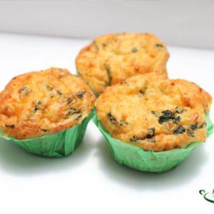 muffin-de-espinaca